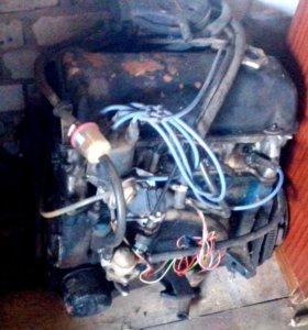 Двигатель ваз 2106 с навесным