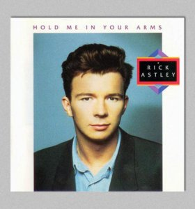 """Винил Rick Astley """"Hold Me In Your Arms"""" (1988)"""