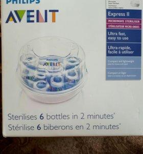 Avent, стерилизатор для бутылочек, сосок