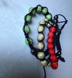 Серёжки и браслеты