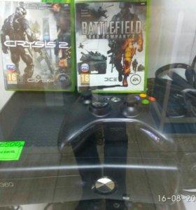 Xbox360 + 2 диска