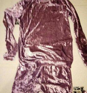 Велюровый костюм Бархат