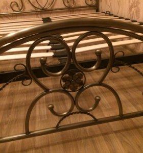 Кровать кованая 160-200