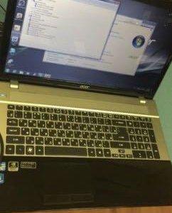 Классный игровой Acer v3-771G i5 3.3ghz+Geforce640