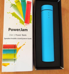 Power Bank+колонка+подставка
