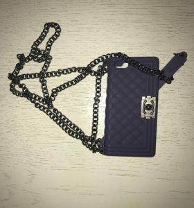 Чехол iPhone 5/5s Chanel