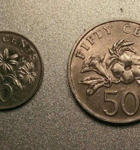 Монеты Сингапур