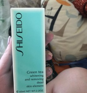 Shiseido green tea маска