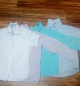 Рубашки по 100 р-1шт