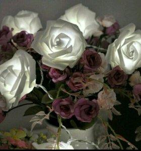Герлянда розы