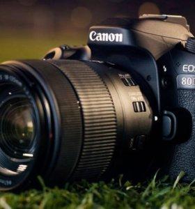 Canon 80D ещё на гарантии и объектив