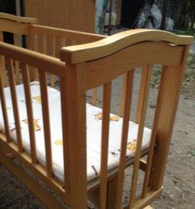 Детская колыбель-кровать