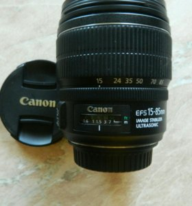 Объектив Canon EFS 15-85mm f/3.5-5.6.