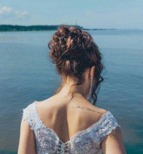Красивое свадебное платье! Продажа/обмен