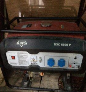 гениратор Elitech 6500 P