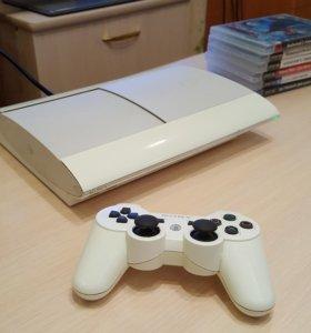 PS3 Super slim 500gb (6 игр)