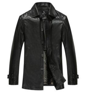 Кожанная куртку