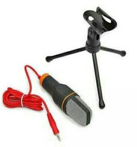 Настольный микрофон для начинающего блоггера