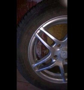 Продам летние колеса 3 штуки r14 175на65