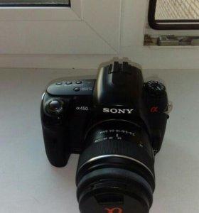 Фотоаппарат SONY A 450 kit