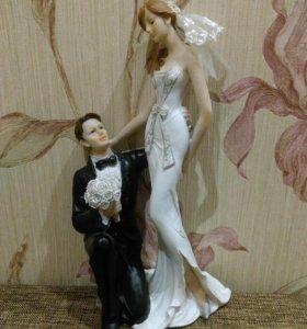 Свадебная статуэтка