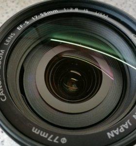 Объектив Canon EF-S 17-55mm IS USM
