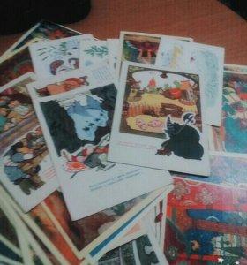 Сказки-открытки 1961-1963