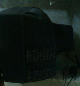 Телевизор большой кинескоп рабочий 50см