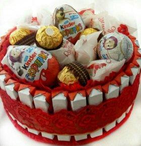 Тортик со сладостями №1