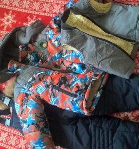 Комбинезон(куртка,штаны,жилетка)