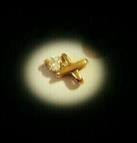 Золотые кулон 585