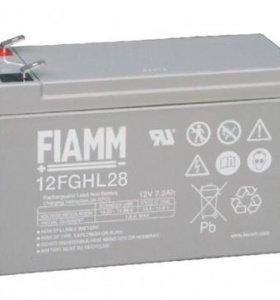 Аккумулятор FIAMM 12FGHL28 12В 7,2 Ач ИБП и др.