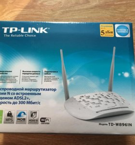Роутер TP-Link WiFi Adsl2+