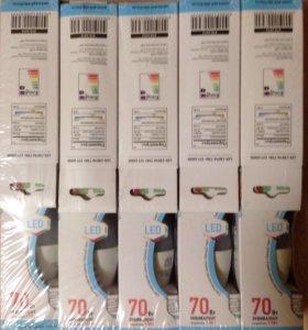 Светодиодная лампа LED свеча 75вт Е27 4000к
