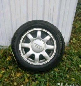 Колеса на Ауди R15 5*112