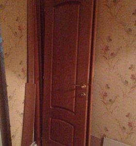 Распашные двери б/у, торг уместен