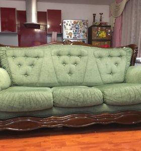 Мягкая мебель (диван, кресло и мини-диван)