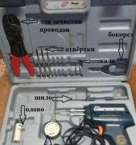 Паяльник - пистолет для электроники