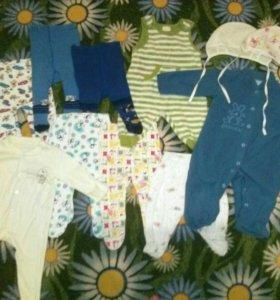 Детские вещи ( от 0 до 3 месяцев )
