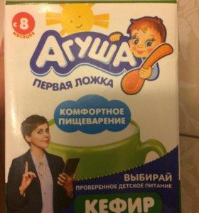 Кефир Агуша 6 шт до 22.08