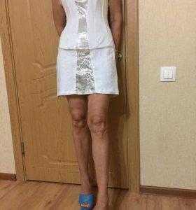 Вечернее платье- корсет с пайетками Турция