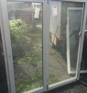 Новые ПВХ окна и бу остатки со склада