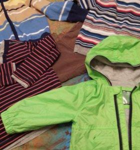 Много красивой одежды для мальчика.Мешком.