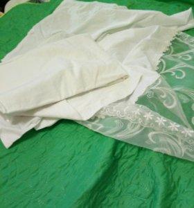 Ткань х/б белая