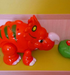 Динозавр с пультом