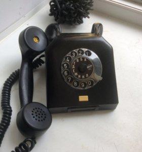 Телефон винтажные ГДР карболит 1966 год