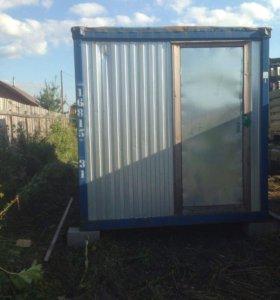 Блок контейнер( бытовка)
