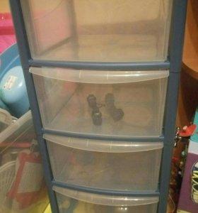 Ящик пластиковый новый