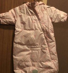 Спальный мешок для девочки