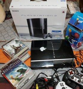 PlayStation 3 срочно + 20 игр